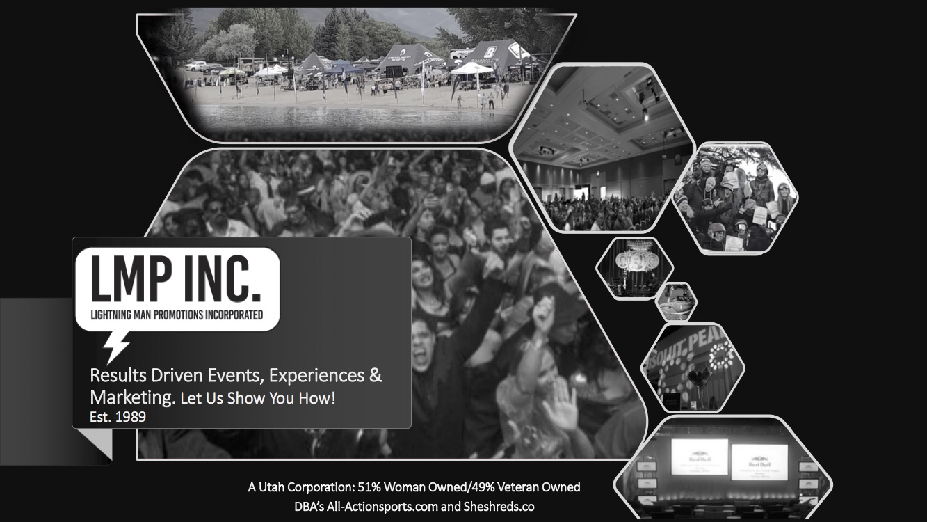 LMP INC, Results Driven Events, Experiences & Marketing.  Let us show you how!