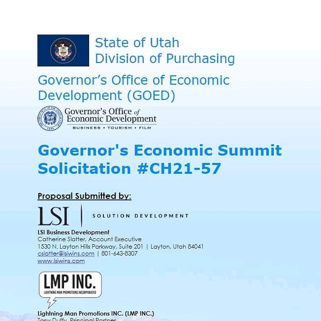 Utah Economic Summit image